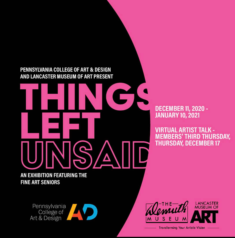 Things Left Unsaid Exhibition