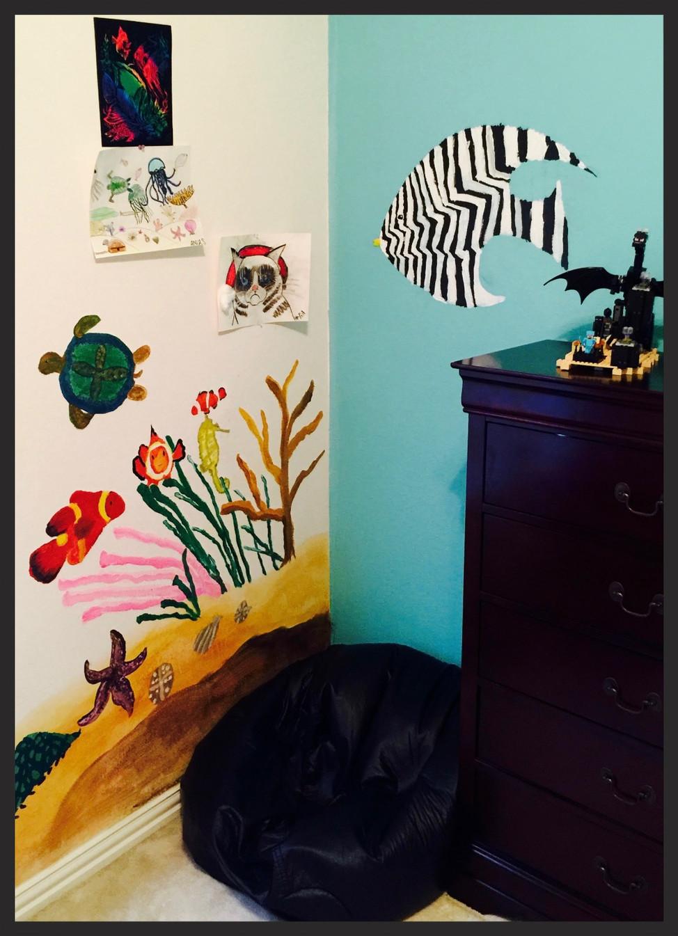 Perfect Ocean Themed Bedroom!