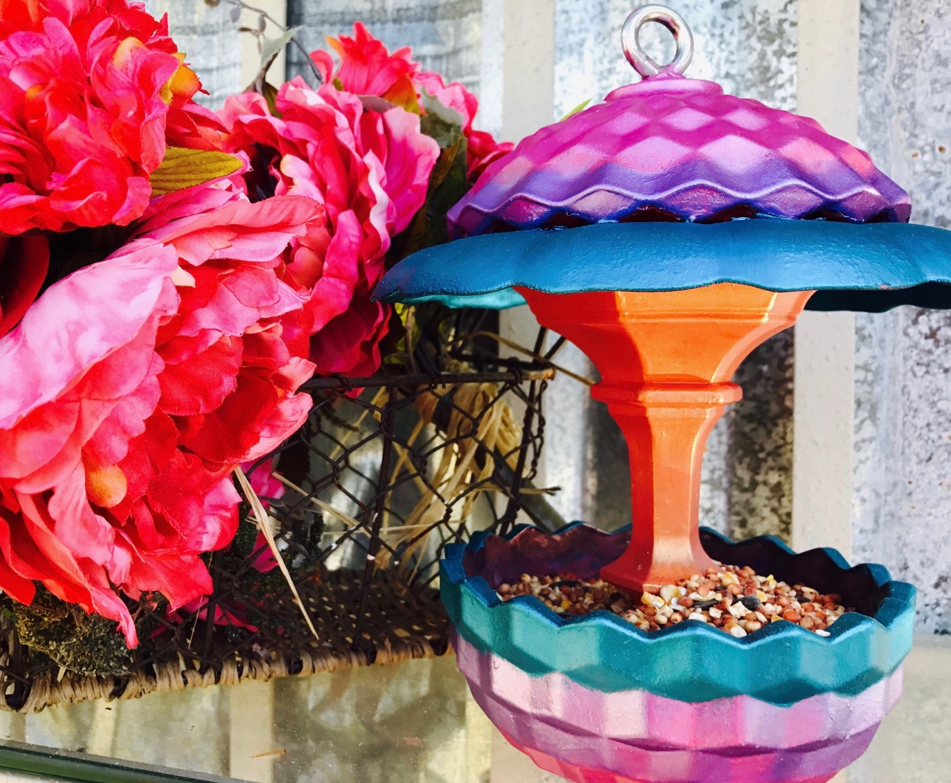 Recycled Glass Candy Dish