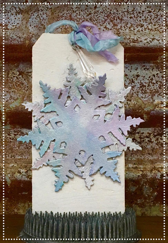 12 Days of Christmas - Snowflake Tag!