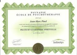 Praticien en Hypnose Spirituelle