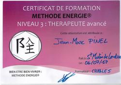 ENERGIE® Niveau 3