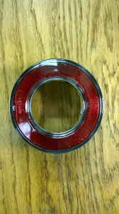 Rear red Reflector