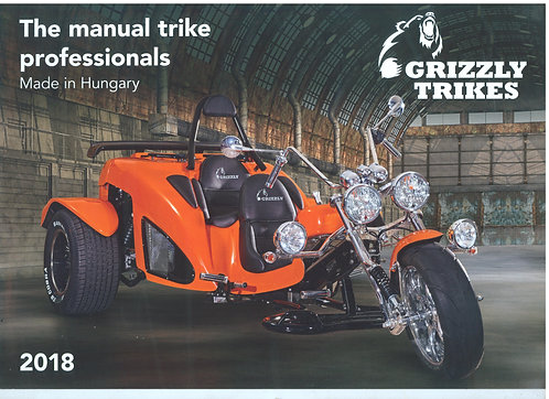 Boom Grizzly Catalogue