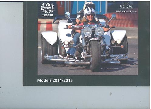 Boom 2014 / 2015 Catalogue