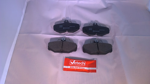 Set Rear pads for Disc brakes
