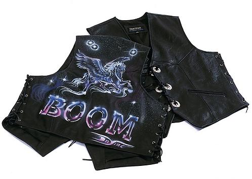 Boom Waistcoat Night Rider Art