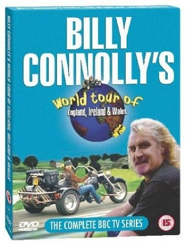 Billy Connolly's England and Ireland Tour on a Boom Low Rider Trike