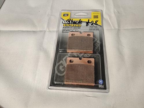 Front Brake pads for Black Brembo Caliper
