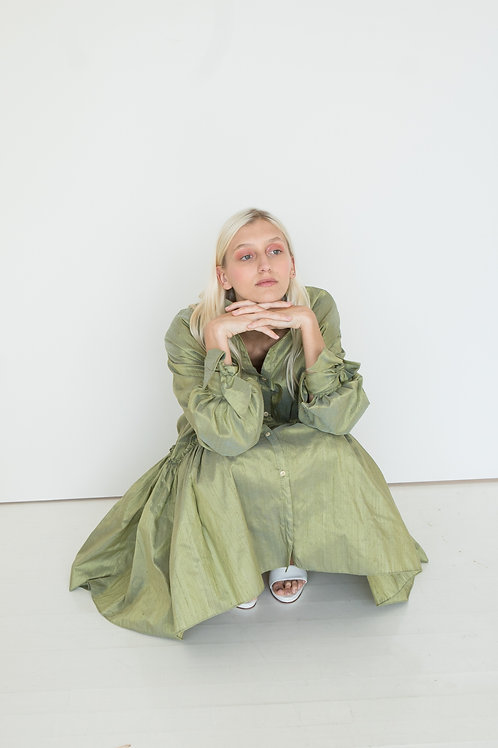 Vestido Ferrero Verde