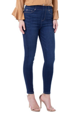 Chloe High Rise Ankle Skinny in Raleigh