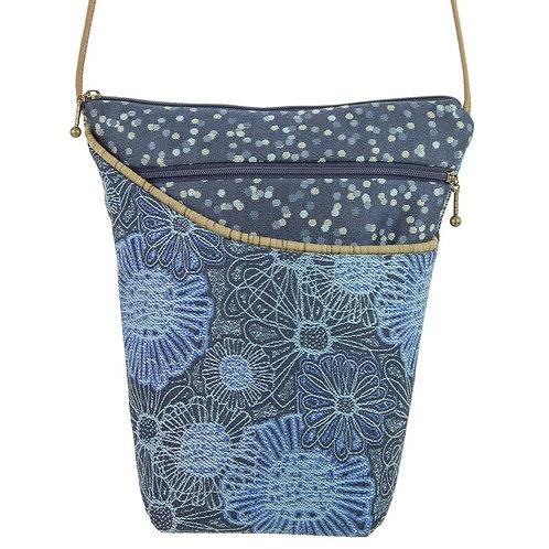 Maruca City Girl crossbody bag Blooming Blue print