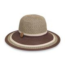 "Wallaroo Nola in Brown Combo 4"" Brim Packable SPF 50+"