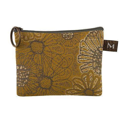 Maruca coin purse Blooming Saffron print
