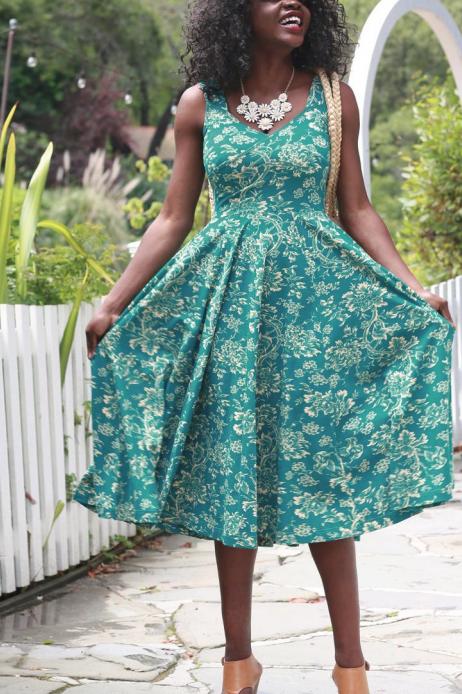 Effie's Heart Sonnet Dress in Florista Print