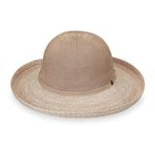 "Wallaroo Victoria Two-Toned Hat 3.5"" Brim Packable SPF 50+"