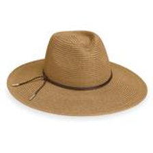 "Wallaroo Montecito Rancher in Camel, 4"" Brim Packable UPF 50+"