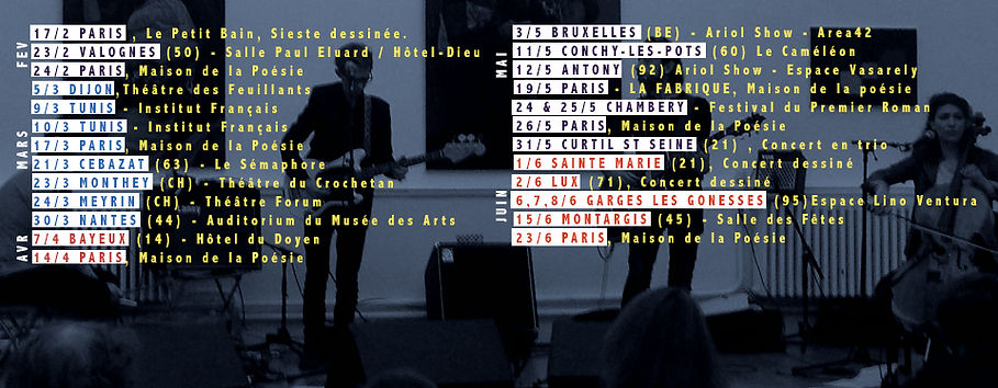 Bandeau planning concert  1er semestre 2