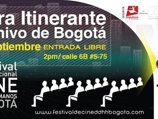 Comienza circulación del 2° Festival Internacional de Cine por los Derechos Humanos-Bogotá | Entrada