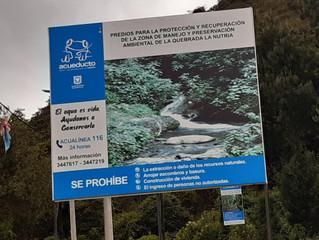 Predios para la protección y recuperación de la zona de manejo y preservación ambiental de la Quebra