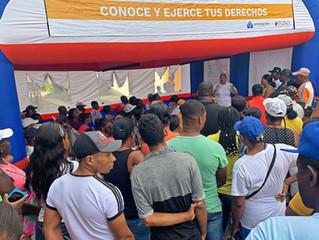 610 nariñenses fueron atendidos durante la jornada móvil de orientación a víctimas del conflicto, or