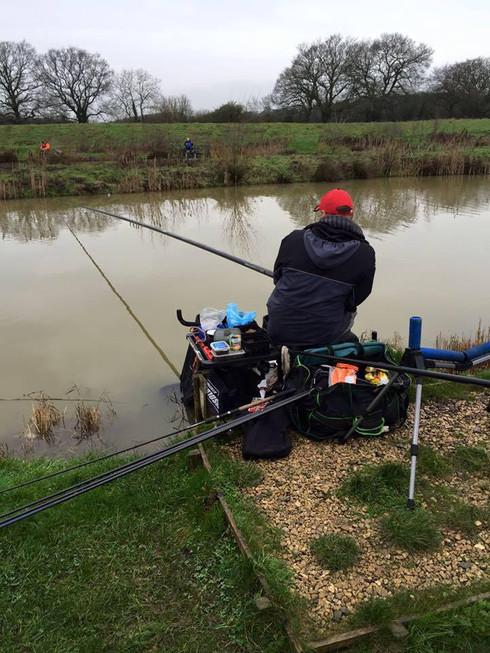 Match fishing team!!
