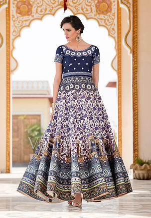 cream-designer-wear-indian-evening-party
