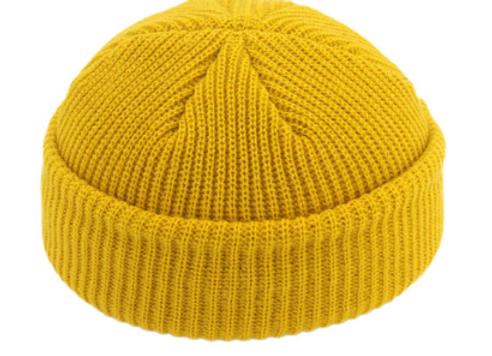 Yellow Fisherman Beanie