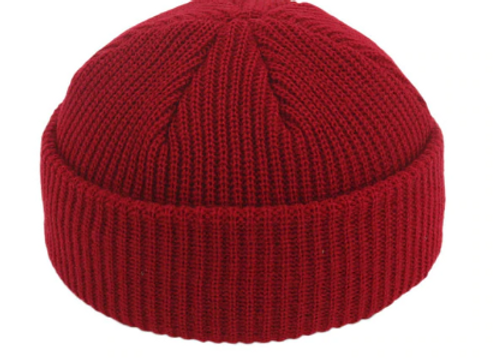 Whine Red Fisherman Beanie