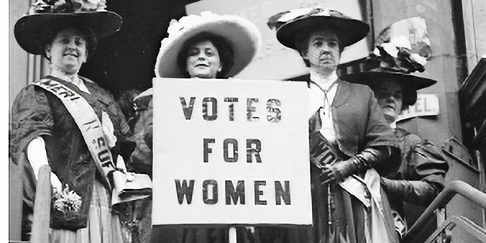 Lecture: The Movement is a Sort of Mosaic:  A History of the Women's Suffrage Movement