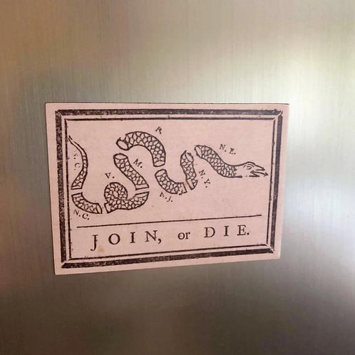 Magnet - Join or Die