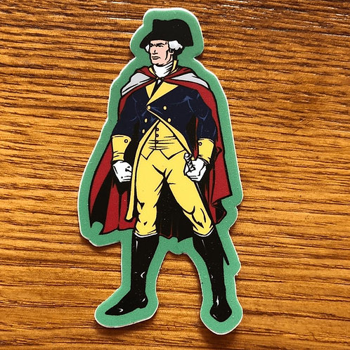 Sticker - George Washington
