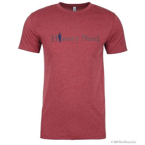 History Nerd with George Washington T-Shirt