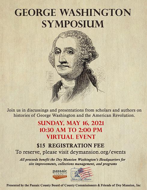 Flyer, George Washington Symposium, 2021