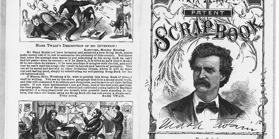 Lecture - Writing with Scissors: American Scrapbooks
