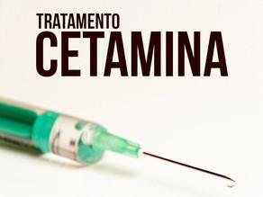 Cetamina para tratamento de depressão resistente