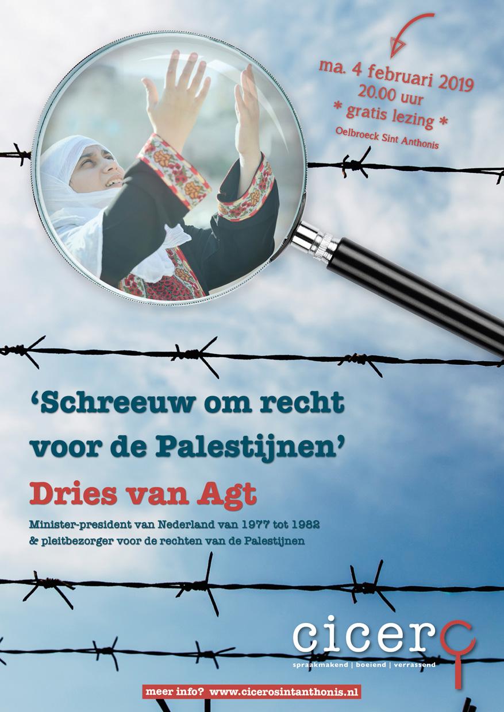 Poster feb 2019 Dries van Agt A5