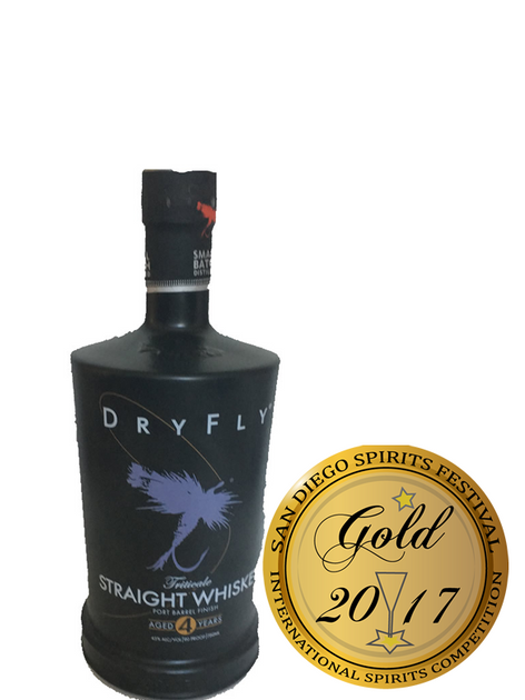 Dry Fly Straight Triticale Whiskey Port Barrel Finish