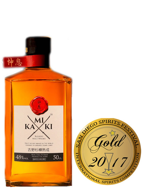 Kamiki Japanese Whiskey