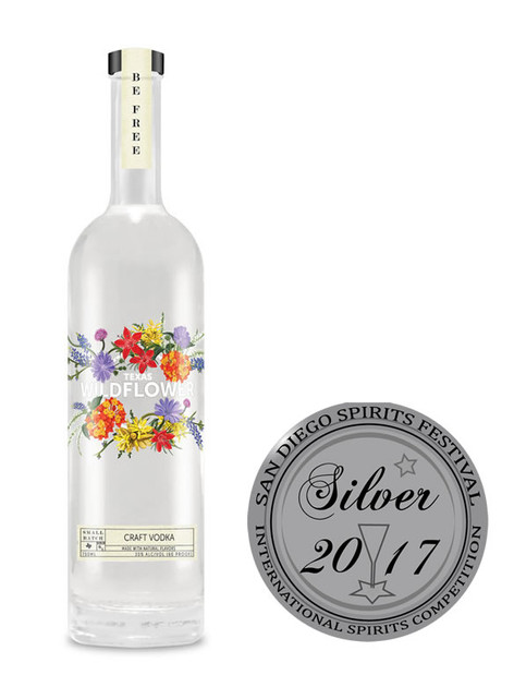 Texas Wildflower Craft Vodka
