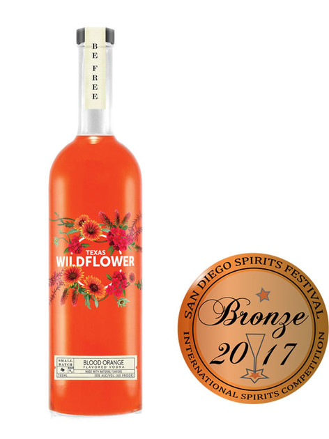 Texas Wildflower Blood Orange Vodka