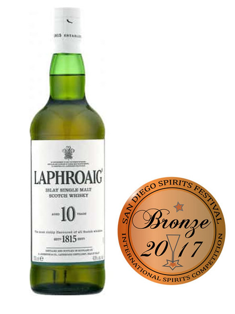 Laphroaig Single Malt Scotch Whisky 10 year old