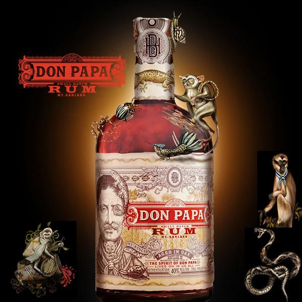 Don Papa Rum - Silver Sponsor