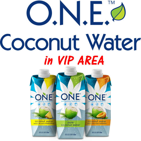 One Coconut Water in VIP area.jpg