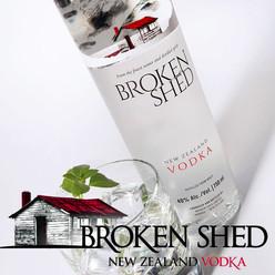 Broken Shed New Zealand Vodka Bronze
