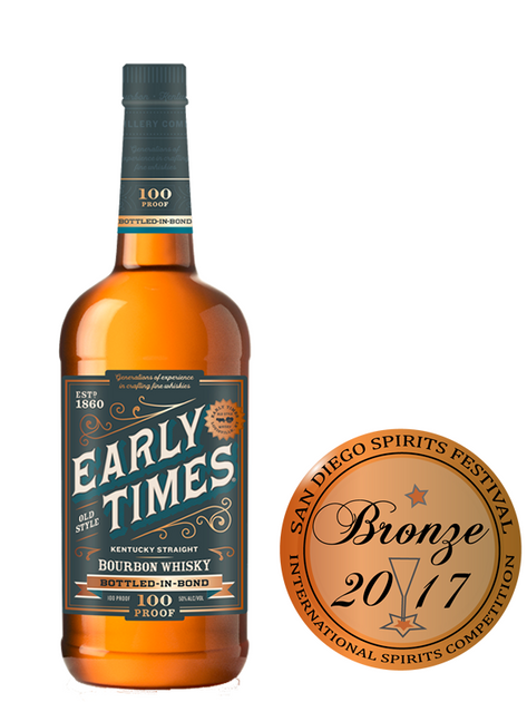 Early Times Bottled in Bond Whiskey
