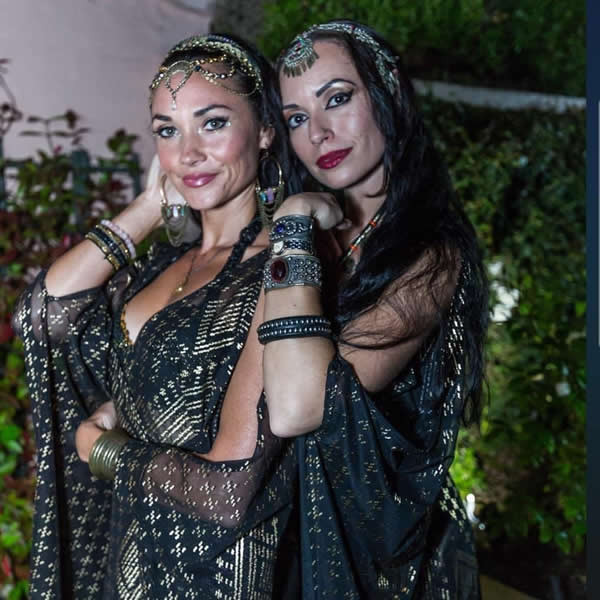 Belly dancers and snake charmers