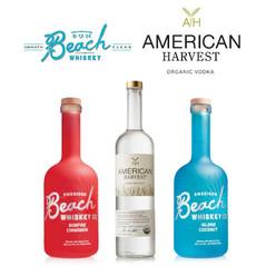 Beach Bay Whiskey and American Harvest Vodka - Bronze
