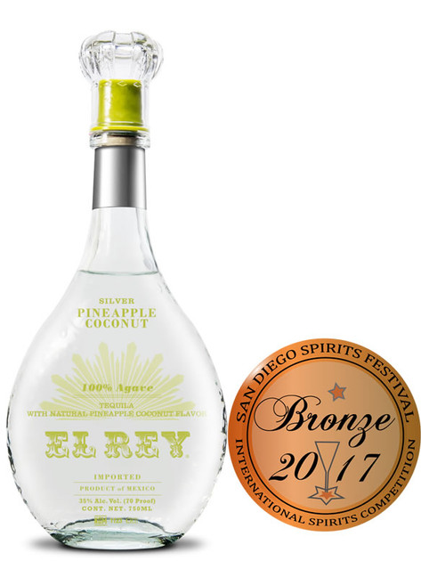 El Rey Pineapple Coconut Tequila