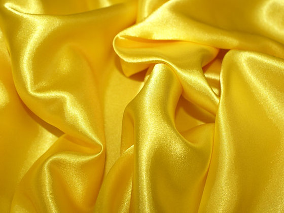 Golden Yellow Satin